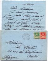 Brief Lettre - Nelly Perret Lausanne Naar Ida Wouters Antwerpen - 1929 - Naissance & Baptême