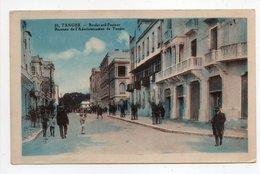 - CPSM TANGER (Maroc) - Boulevard Pasteur - Bureaux De L'Administration - Edition Lebrun N° 25 - - Tanger