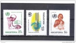 ALB413 ALBANIEN 1968  MICHL 1266/68 Postfrisch SIEHE ABBILDUNG - Albanien