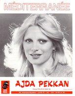 AJDA PEKKAN - EDDY MARNAY / CLAUDE MORGAN - MEDITERRANEE - 1976 - EXC ETAT COMME NEUVE - Otros