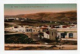 - CPA TAZA (Maroc) - Un Coin De La Ville Nouvelle (BRASSERIE DU COMMERCE) - Editions Lévy N° 51 - - Autres