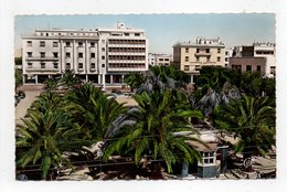 - CPSM OUJDA (Maroc) - La Place Georges Clemenceau 1956 - Photo CAP 744 - - Autres