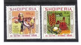 OST1473 ALBANIEN 1975  MICHL 1800/01 Postfrisch SIEHE ABBILDUNG - Albanien