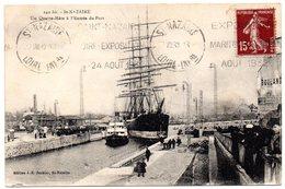 LOIRE INFre - Dépt N° 44 = St NAZAIRE 1930 =  Flamme  KRAG  'FOIRE 1930 + EXPOSITION MARITIME COLONIALE AOUT 1932' - Marcophilie (Lettres)