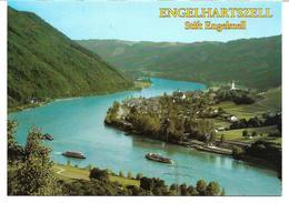 1654w: AK 4090 Engelhartszell, Stift Engelszell, Trappistenkloser, Ungelaufen - Schärding