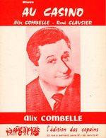 JAZZ - PARTITION AT THE CASINO - BLUES - ALIX COMBELLE -1966 - EXC ETAT COMME NEUVE - Jazz