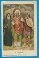 Holycard    St. Wilfried V. York - Devotion Images
