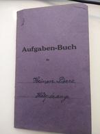 Aufgaben-buch , 1937 , Luxembourg ( Hesperange) - Briefe U. Dokumente