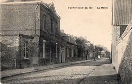 CPA  - 59 - COURCHELETTES - La Mairie - France