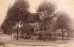 CPA  - 59  - COURCHELETTES - Le Monument Aux Morts - France