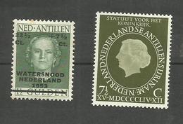 Antilles Néerlandaises N°232, 235 Neufs Avec Charnière* Cote 2.95 Euros - Curacao, Netherlands Antilles, Aruba