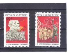 ALB10  ALBANIEN 1989  MICHL  2413/14 ** Postfrisch SIEHE ABBILDUNG - Albanien