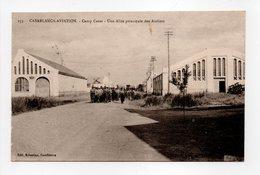 - CPA CASABLANCA-AVIATION (Maroc) - Camp Cazes 1927 - Une Allée Principale Des Ateliers - Edition Kricorian 153 - - Casablanca