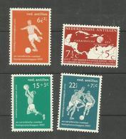 Antilles Néerlandaises N°253 à 256 Neufs Avec Charnière* Cote 6.50 Euros - Curacao, Netherlands Antilles, Aruba