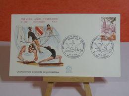 Gymnastique - 67 Strasbourg - 21.10.1978 FDC 1er Jour N°1098 - Coté 1,80€ - 1970-1979