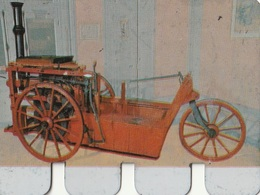 """Plaquette Collection """"L'Auto à Travers Les âges"""" : Secretand 1890 - Plaques En Tôle (après 1960)"""