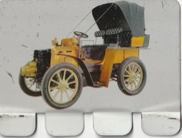 """Plaquette Collection """"L'Auto à Travers Les âges"""" : Panhard Type B I 1899 - Plaques En Tôle (après 1960)"""