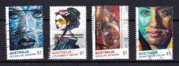 Australia 2017 Street Art Set Of 4 Used - 2010-... Elizabeth II