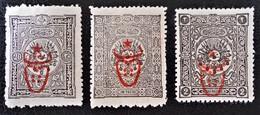 SURCHARGES 1917 - TIMBRES-TAXE DE 1893/1901 - NEUFS * - YT 476/78 - 1858-1921 Empire Ottoman