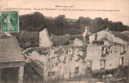 54 RUINES DE VITRIMONT AU FOND LA COTE DE LEOMONT - War 1914-18