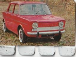 """Plaquette Collection """"L'Auto à Travers Les âges"""" : Simca 1000 - Plaques En Tôle (après 1960)"""