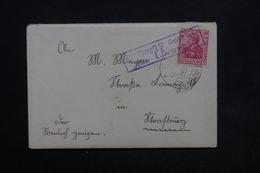 ALLEMAGNE - Enveloppe De Steinburg En 1915 , Voir Cachets - L 23796 - Covers & Documents