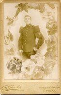 PHOTO CARTONNEE(MILITAIRE) EPINAL - Anonymous Persons