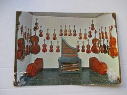 Orgue De Procession Violons Violoncelle Musée Geneve - Musique Et Musiciens