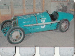 """Plaquette Collection """"L'Auto à Travers Les âges"""" : Rolland Pilain Course 1923 - Plaques En Tôle (après 1960)"""