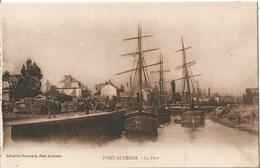 CPA  ( 14 ) PONT-AUDEMER  : Le Port . - Caen