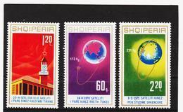 ECK780 ALBANIEN 1971  MICHL 1486/88 ** Postfrischer SATZ SIEHE ABBILDUNG - Albanien