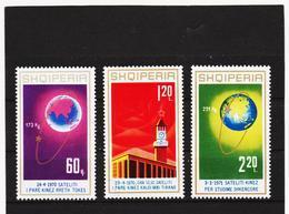 ECK779 ALBANIEN 1971  MICHL 1486/88 ** Postfrischer SATZ SIEHE ABBILDUNG - Albanien