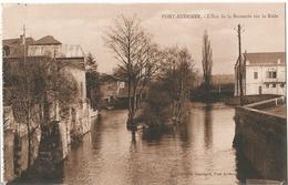 CPA  ( 14 ) PONT-AUDEMER  : L'ilot De La Brasserie . . - Caen