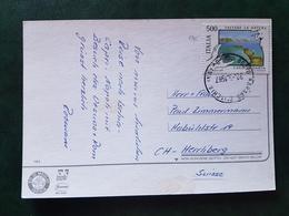 (19564) STORIA POSTALE ITALIA 1987 - 6. 1946-.. Repubblica