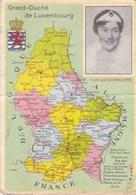 GRAND-DUCHÉ DE LUXEMBOURG  - PEU COURANTE CPA  - S.A.R. LA GRANDE DUCHESSE CHARLOTTE. - Grand-Ducal Family