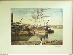 ILE DE LA REUNION-SAINT DENIS, PORTE La POINTE Des GALETS-1890-6283 - Prints & Engravings