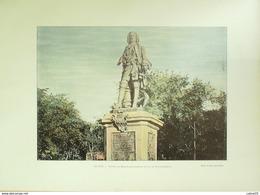 ILE DE LA REUNION-SAINT DENIS,STATUE MAHE LABOURDONNAIS-1890-6286 - Prints & Engravings