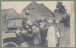 CPA Militaria, Guerre 14/18 - PAS DE CALAIS - ARRAS - Officiers Allemands Dans Leur Véhicule - J. Courcier / 262 - Frankreich