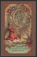 "San Leucio / Primo Vescovo Di Brindisi - (Modena - Litografia S. Giuseppe - 1893) - ""Riproduzione"" - Images Religieuses"