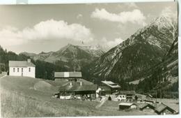 Kleinwalsertal 1953; Baad Mit Hammerspitze Und Zwölferkopf - Gelaufen. (Kessler - Rieziern) - Kleinwalsertal