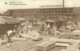 SOIGNIES - CARRIERES DU HAINAUT - CHANTIERS DE TAILLE (ref 5383) - Soignies