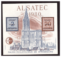 Salon Philatélique De STRASBOURG  Bloc N° 1 - CNEP