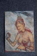 CEYLON - Frescoes In SIGIRIYA - Sri Lanka (Ceylon)