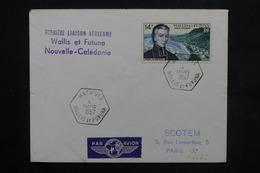 WALLIS ET FUTUNA - Enveloppe 1ère Liaison Aérienne Wallis Et Futuna / Nouvelle Calédonie En 1957 - L 23815 - Covers & Documents