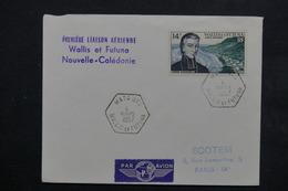 WALLIS ET FUTUNA - Enveloppe 1ère Liaison Aérienne Wallis Et Futuna / Nouvelle Calédonie En 1957 - L 23816 - Covers & Documents