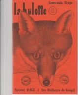 LA HULOTTE DES ARDENNES N° 33/34 - SPECIAL RAGE - LES MALHEURS DE GOUPIL - Animals