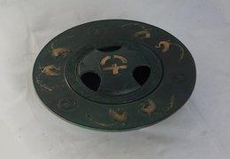 Japanese Cast Iron Ashtray - Metall
