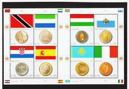 RRR398 VEREINTE NATIONEN UNO WIEN 2007  MICHL 489/96 ** Postfrisch  ZÄHNUNG Siehe ABBILDUNG - Wien - Internationales Zentrum