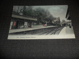Engeland ( 8 )  England  United Kingdom  Verenigd - Koninkrijk  :  Cranley Gardens Station - England