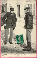 EN BEAUCE - Types Beaucerons. (Artenay Mentionné Au Verso). Très Belle Carte . LL ORL2ANS N° 1948 - Farmers